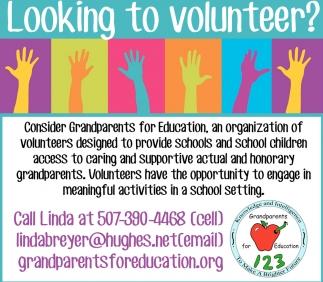 Looking to volunteer?