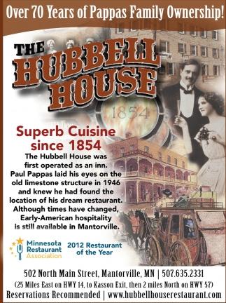 Superb Cuisine since 1854