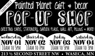 Pop-Up Shop, Painted Planet Licensing Group