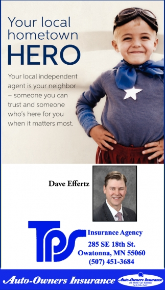 Your local hometown hero