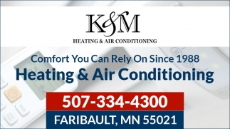 Heating services in Faribault