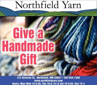 Give a Handmade Gift