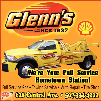 We're Your Full Service Hometown Station!