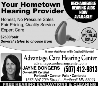 Your Hometown Hearing Provider