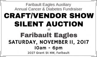 Craft/Vendor Show Silent Auction