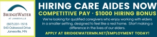 Hiring Care Aides Now