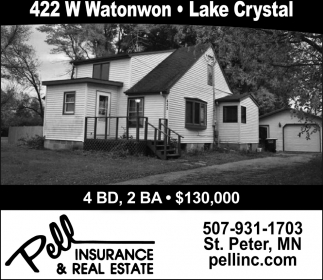422 W Watonwon, Lake Crystal