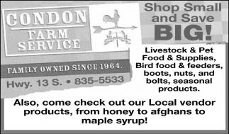 Shop Small and Save Big!