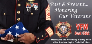 Past & Present... Honoring Our Veterans