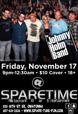 The Johnny Holm Band, Spare Time Entertainment, Owatonna, MN