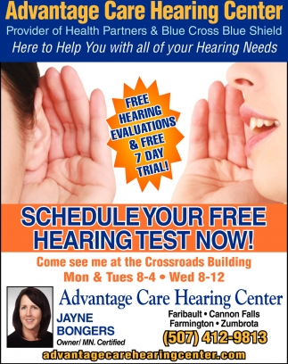 Free Hearing Evaluations & Free 7 Days Trial!