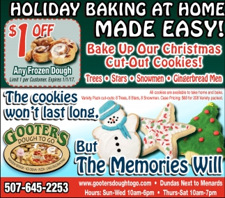 Bake Up Our Christmas Cut Out Cookies!
