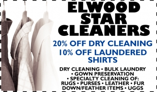 Coupon, Elwood Star Cleaners, Owatonna, MN
