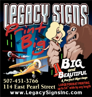 Print Big, Legacy Signs Inc.