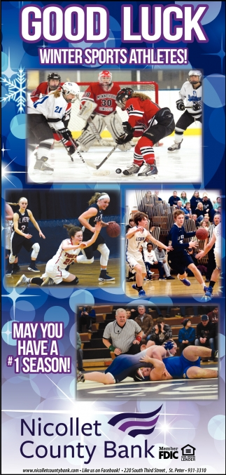 Good Luck Winter Sports Athletes!