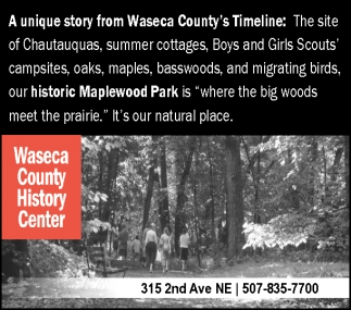 A unique story from Waseca County's Timeline