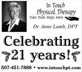 Celebrating 21 years!