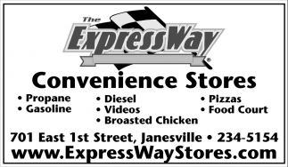 Convenience Stores, The Express Way, Windom, MN