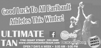 Good Luck To All Faribault Athletes This Winter!