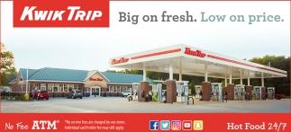 Big on fresh. Low on price.