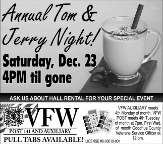 Annual Tom & Jerry Night!