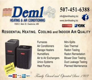 Residential Heating, Cooling and Indoor Air Quality