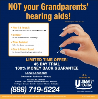 NOT your Grandparents' hearing aids!