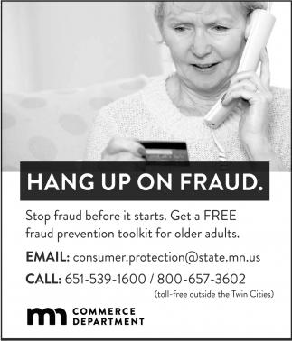 Hang up on fraud