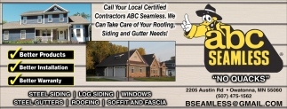 Roofing, Sidind and Gutter