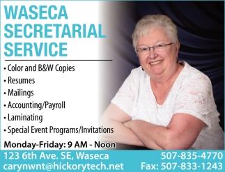 Secretarial Service