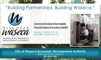 Building Partnerships, Building Waseca