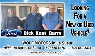 Looking for a new or used vehicle?, Wolf Motors , Jordan, MN