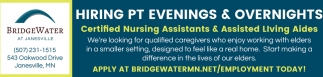 Certified Nursing Assistant & Assisted Living Aides