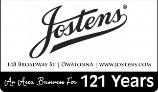 An Area Business For 121 Years, Jostens