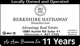 An Area Business For 11 Years