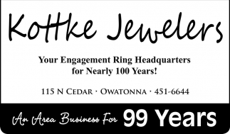 An Area Business For 99 Years, Kottke Jewelers, Owatonna, MN