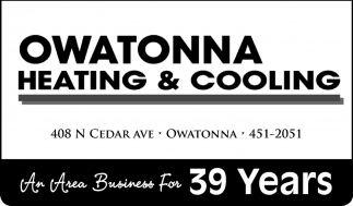 An Area Business For 39 Years
