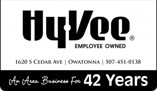 An Area Business For 42 Years