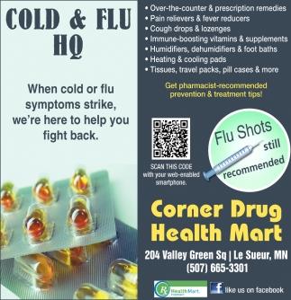 Flu Shots still recommended