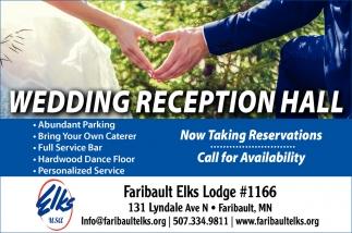 Wedding Reception Hall Faribault Elks Faribault Mn