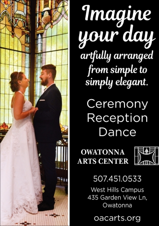 Ceremony Reception Dance, Owatonna Arts Center, Owatonna, MN