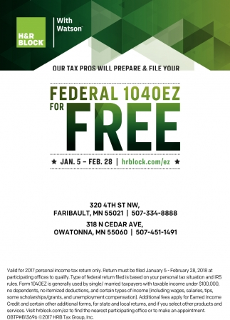 Federal 1040EZ for FREE