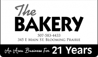 An Area Business For 21 Years, The Bakery