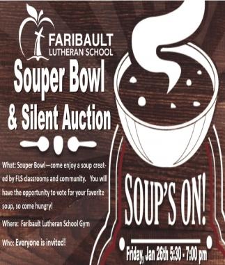 Souper Bowl & Silent Auction