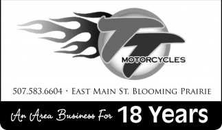 An Area Business For 18 Years, TT Motorcycles