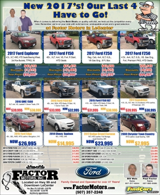 Auto Dealers Ads In Southern Minn