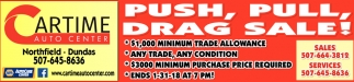 Push, Pull, Drag Sale!