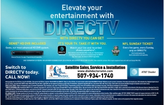 Switch to DIRECTV today