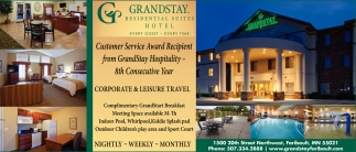 Every Guest Time Grandstay Residential Suites Hotel Faribault Mn