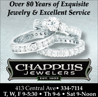 Over 80 years of exquisite jewelry & excellent service, Chappuis Jewelry, Faribault, MN
